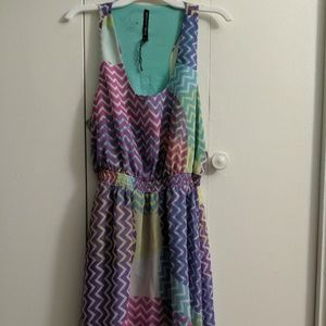 Multi-colored Walter Baker Party Dress